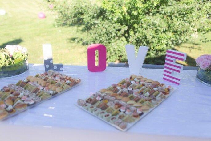 Le choix du traiteur de mariage compte pour beaucoup dans la réussite de la fête - Photo ! Magali Tinti