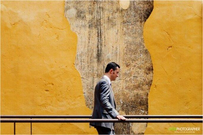 Reportaje de boda, estilo de fotografía documental. Foto Jhon Esquila