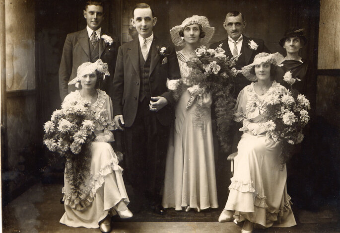 Early Photography Wedding Portraits