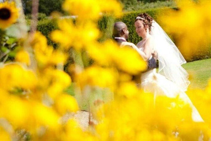 Color amarillo para boda.Foto de Juliet Lemon.