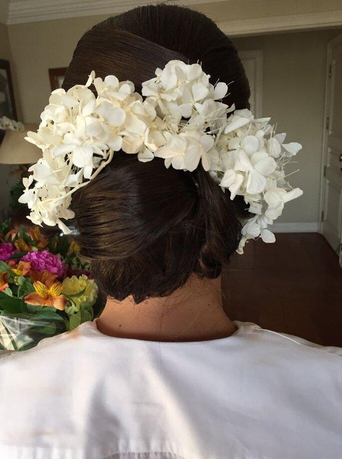 Arranjo cabelo noiva São Paulo