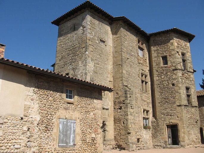Commanderie de Lachal - lieu de réception dans la Drôme