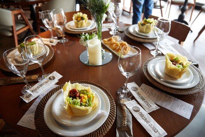Almoço para casamento Civil