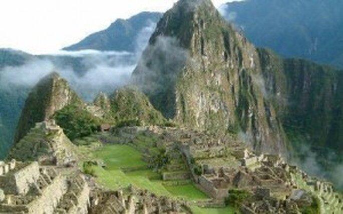 Magnifique vue: Le Machu Picchu