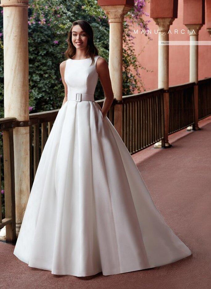 Robe de mariée empire avec du volume