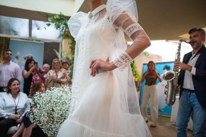 De boda con María by Josechu Santana diseñador de novia Asturias
