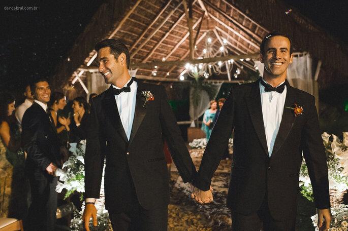 clássico casamento homoafetivo