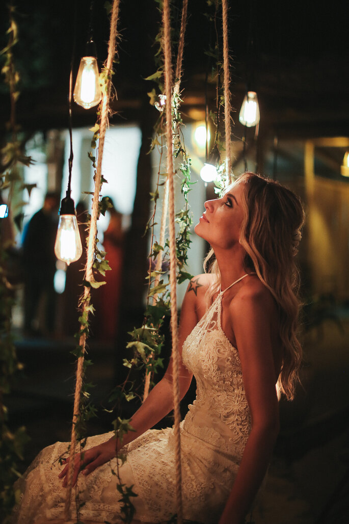 Balanço noiva
