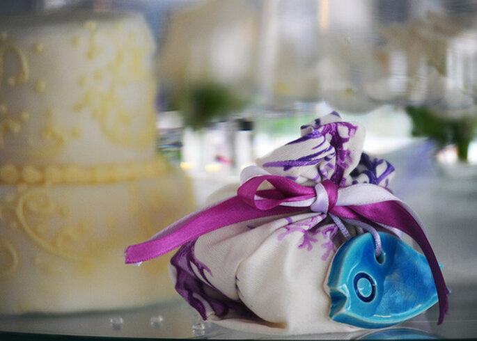Bomboniera como recuerdo de boda