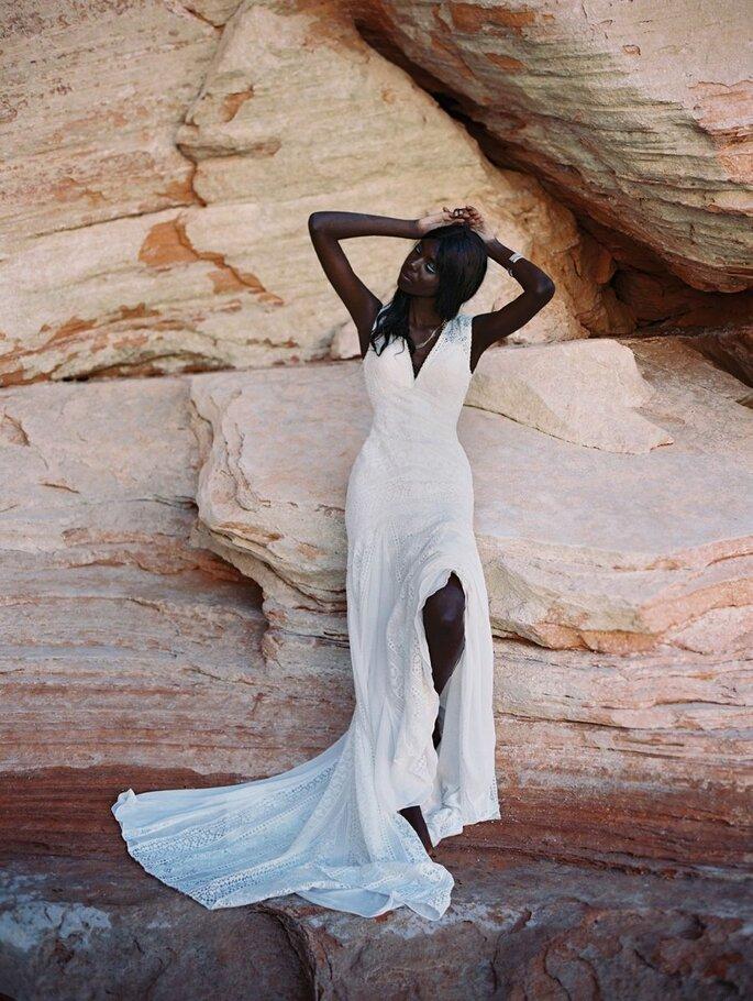 Mª. Inês. Coleção de Allure Bridals