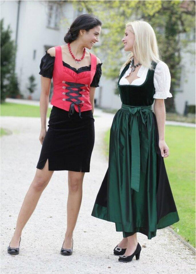 Trachten Trends 2013 Für Bräute Und Weibliche Hochzeitsgäste
