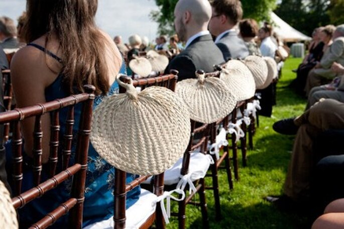 Decorá las sillas en tu boda - Fotos: Dave Robbins