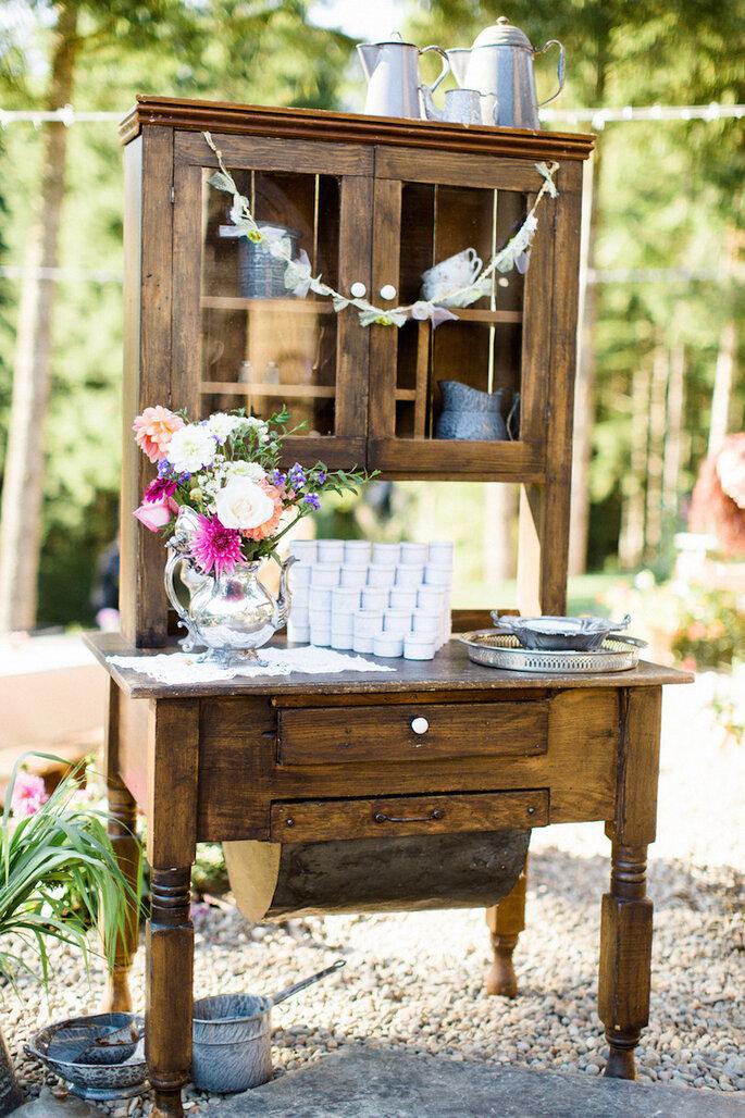 15 ideas súper ingeniosas para una boda al aire libre - Anna Jaye Photography