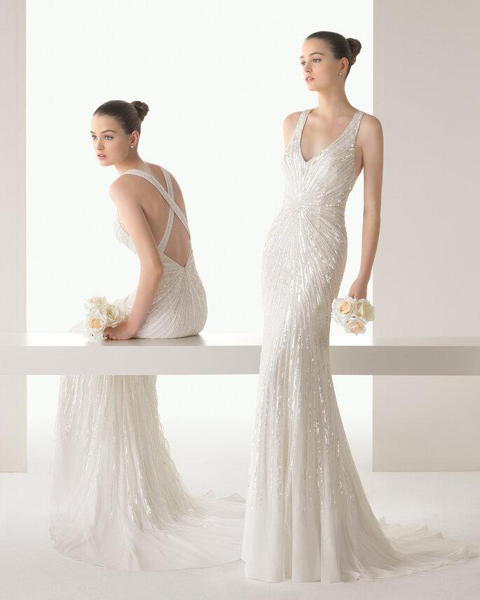 colección soft de rosa clará 2015: los vestidos de novia más femeninos