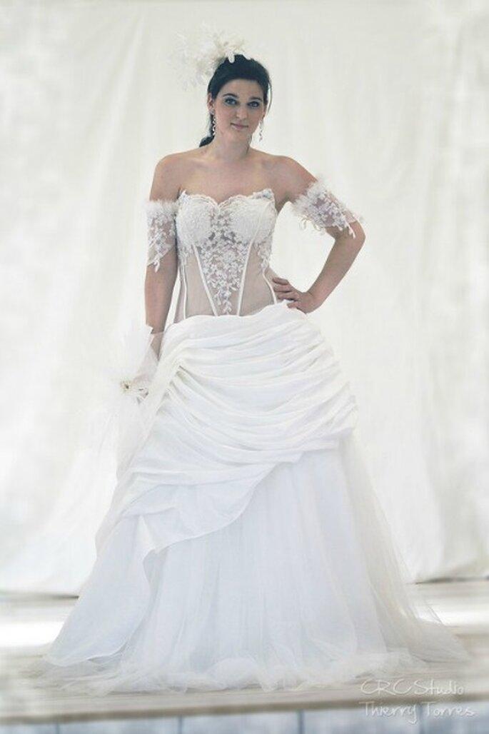 Robe de mariée Au coeur d'un rêve, modèle Taureau - Photo : Au coeur d'un rêve