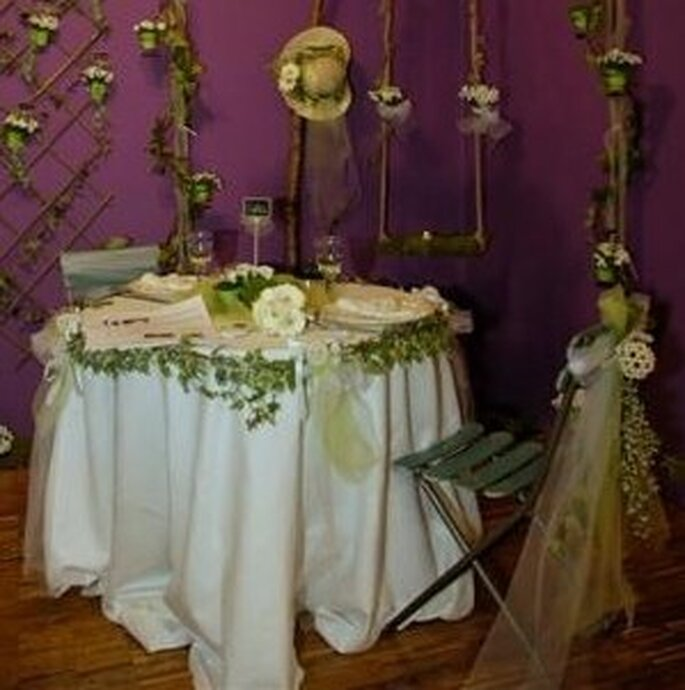 Stand décoration de table