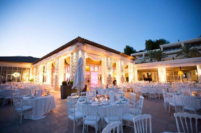 Royal Mougins Golf & Resort - mariage - salle de réception - paca - couple