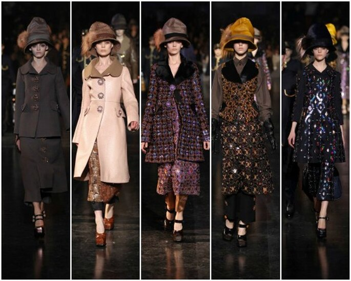Collection Louis Vuitton automne/hiver 2012-2013. Photo: Louis Vuitton