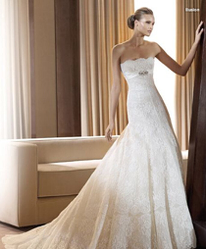 Robe de mariée Illusion Pronovias 2011 - 3 900€