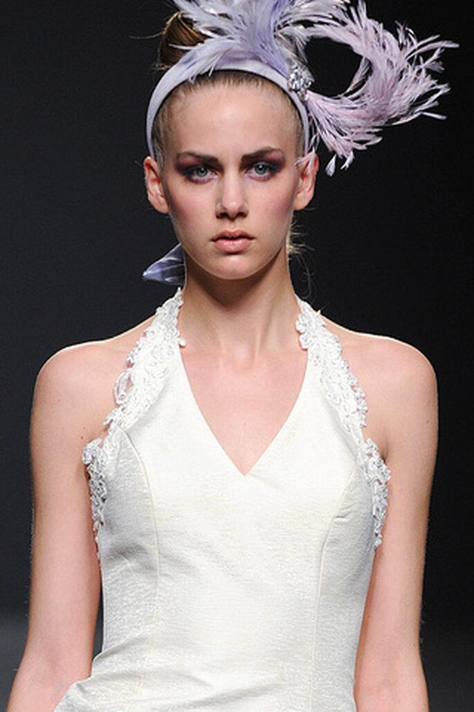 Cuellos halter en los vestidos de novia Ruben Perlotti 2012 - Tomy Pelluz - Vogue