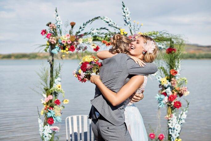 Under water Love Inspirationsshooting Hochzeit Brautpaar