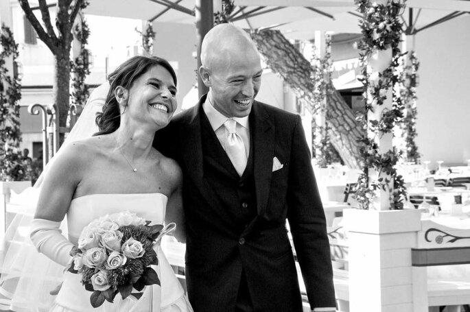 Art&Photos di Giunia Ricci - sposi in bianco e nero