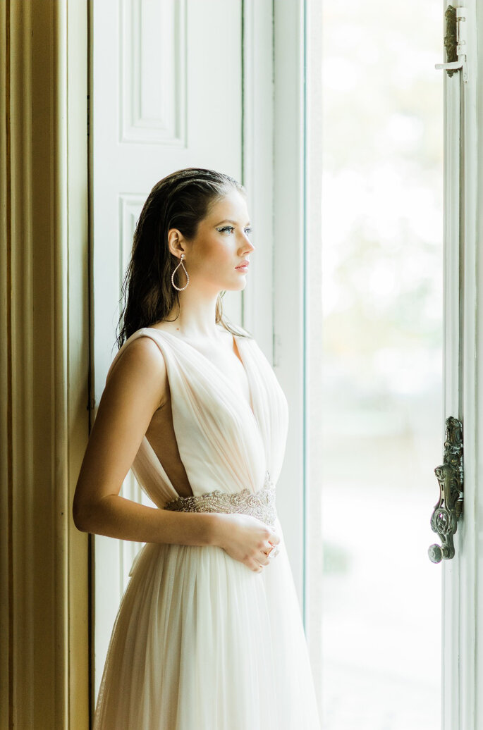Noiva à janela