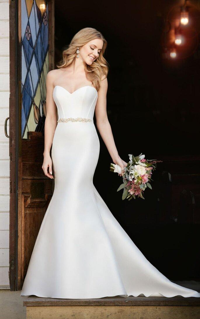 Vestido de noiva de zibeline