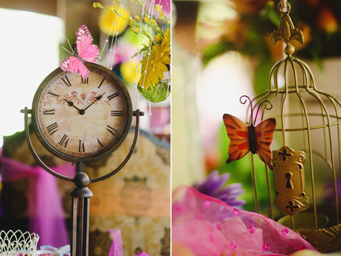 Butterfly Decor - Photo: Hergert Photography