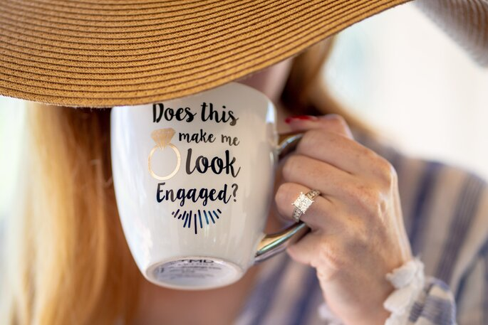 woman engaged