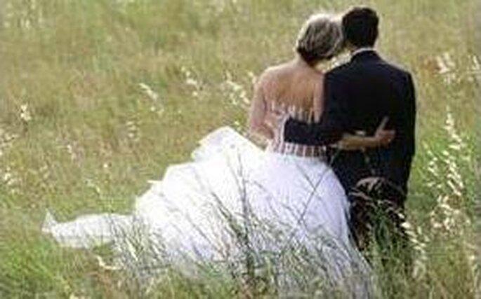 Mariés dans les champs