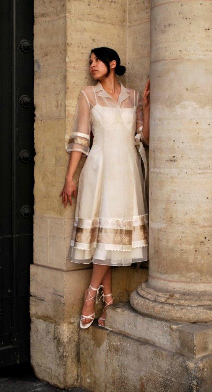 Robe de mariée Satin Café - Jaya Concept 2012