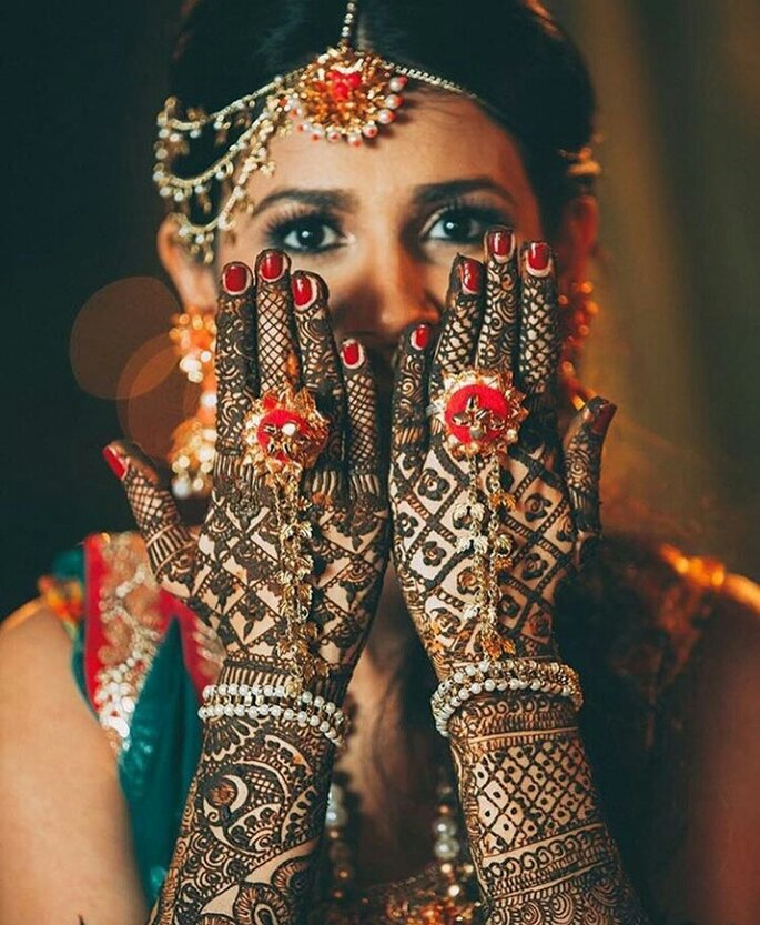 Photo: Shalini Mehndi Artist.