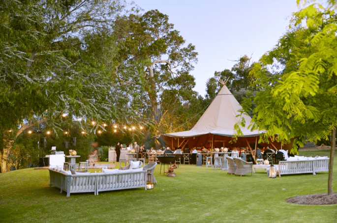 The Tipi & Tent.