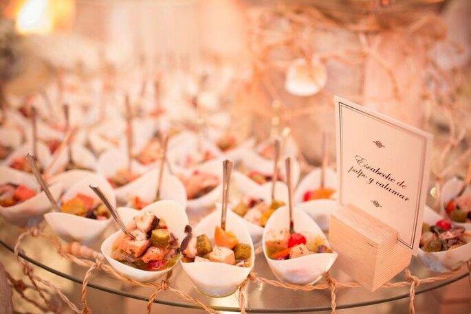 Fabián Gómez Cocina y Eventos Pasabocas para bodas