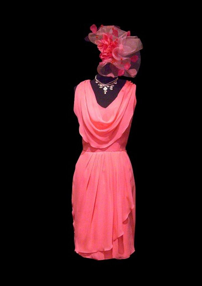 Robes de cocktail Catherine Varnier : une collection colorée, embellissante et sur-mesure