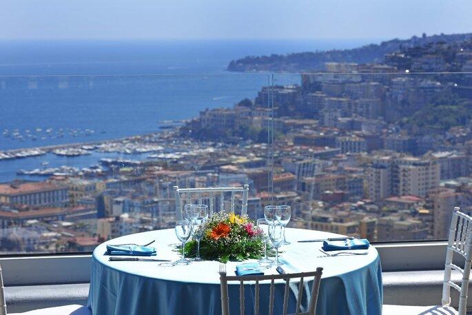 Le Arcate - tavolo con vista panoramica