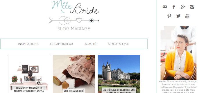 Photo : Mlle Bride