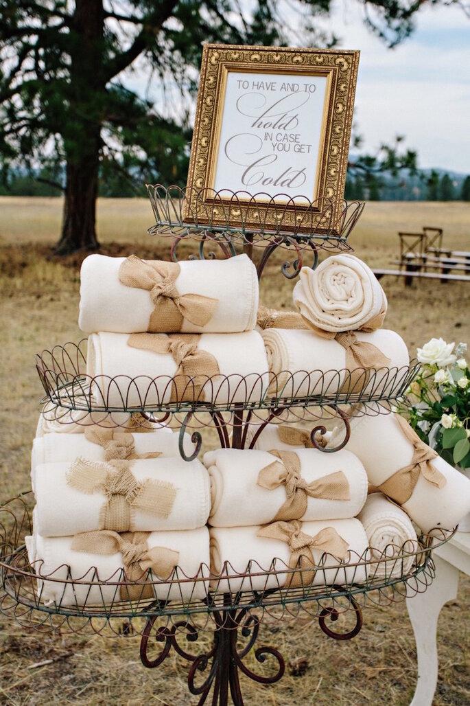15 ideas súper ingeniosas para una boda al aire libre - Green Door Photography