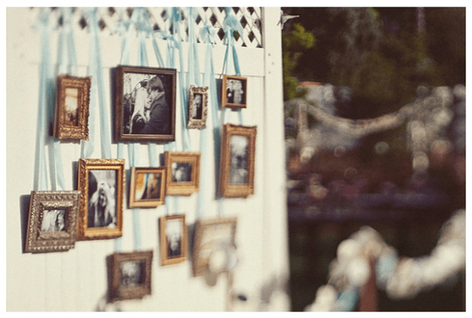 Vintage decor for your wedding - Photo: One Love Photo