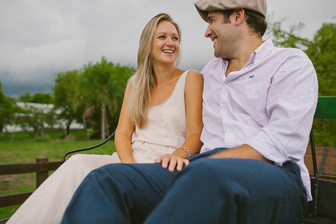Sesión pre boda en el campo. Fotos: Life's Moments