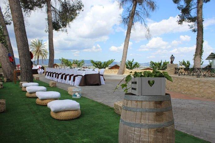 Complejo Rural-Hotel El Pansat restaurante bodas Valencia