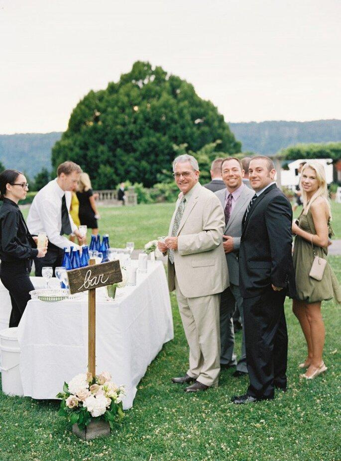 10 cosas que no debes hacer en una boda si estás invitado a ella - Foto Charlotte Jenks Lewis