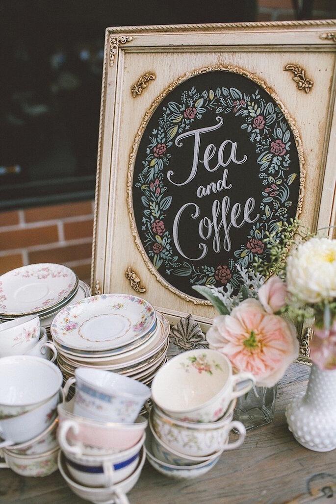 Barra de té para tu boda - Anne Delores