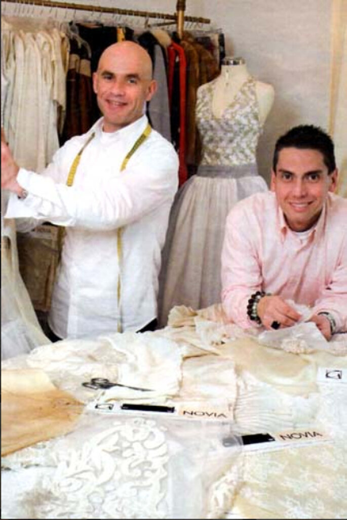 Giulian & Raf: una dupla formada por un peruano con vasta trayectoria en Europa y un español radicado en Perú para darle aires europeos a la moda peruana. De Perú para el mundo.