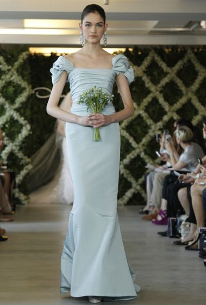 Hellblaue Hochzeitsträume von Oscar de la Renta