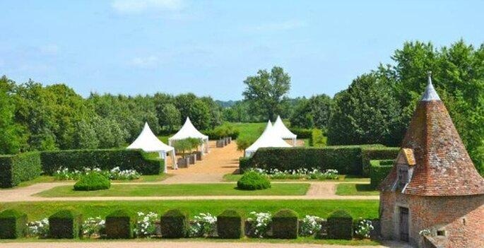 Quoi de plus magique que de profiter des somptueux jardins du Château de Beauvoir ?