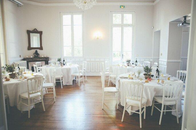 Château la Beaumetane - mariage - salle de réception - paca - couple