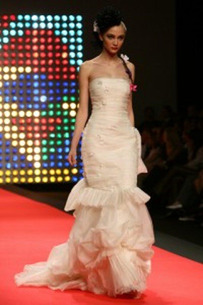 Robes de mariée romantiques Christian Lacroix 2009