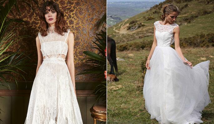 Robes de mariée YOLAN CRIS et MARIE LAPORTE
